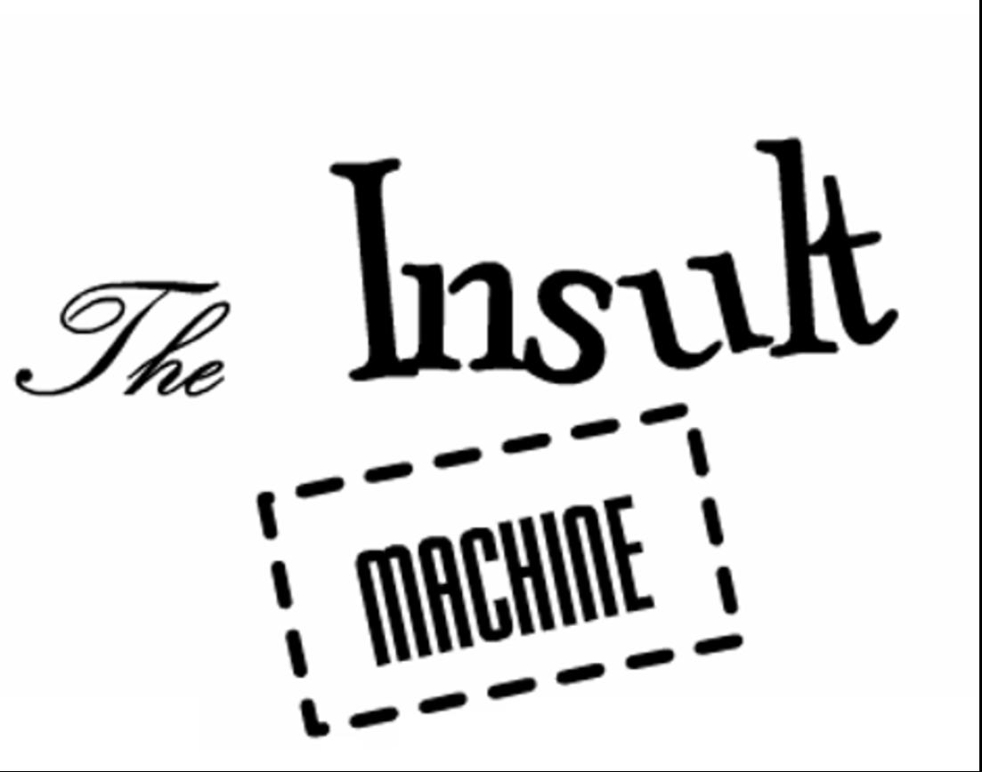 insult machine